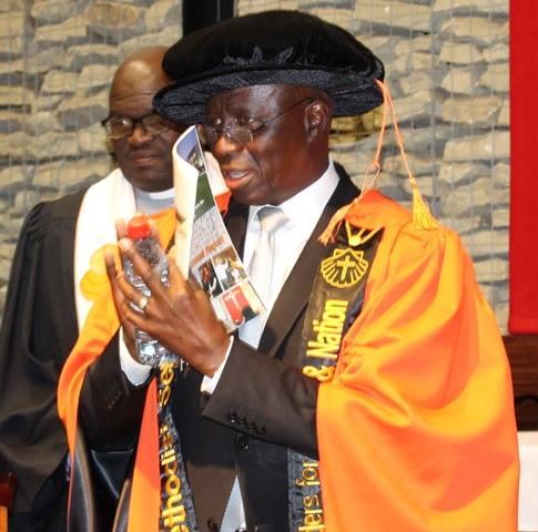 Grand Chancellor of the Seth Mokitimi Methodist Seminary