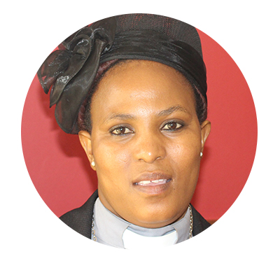Rev Thembeka Mkabeni