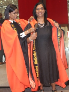 DR MARIE INDUCTED