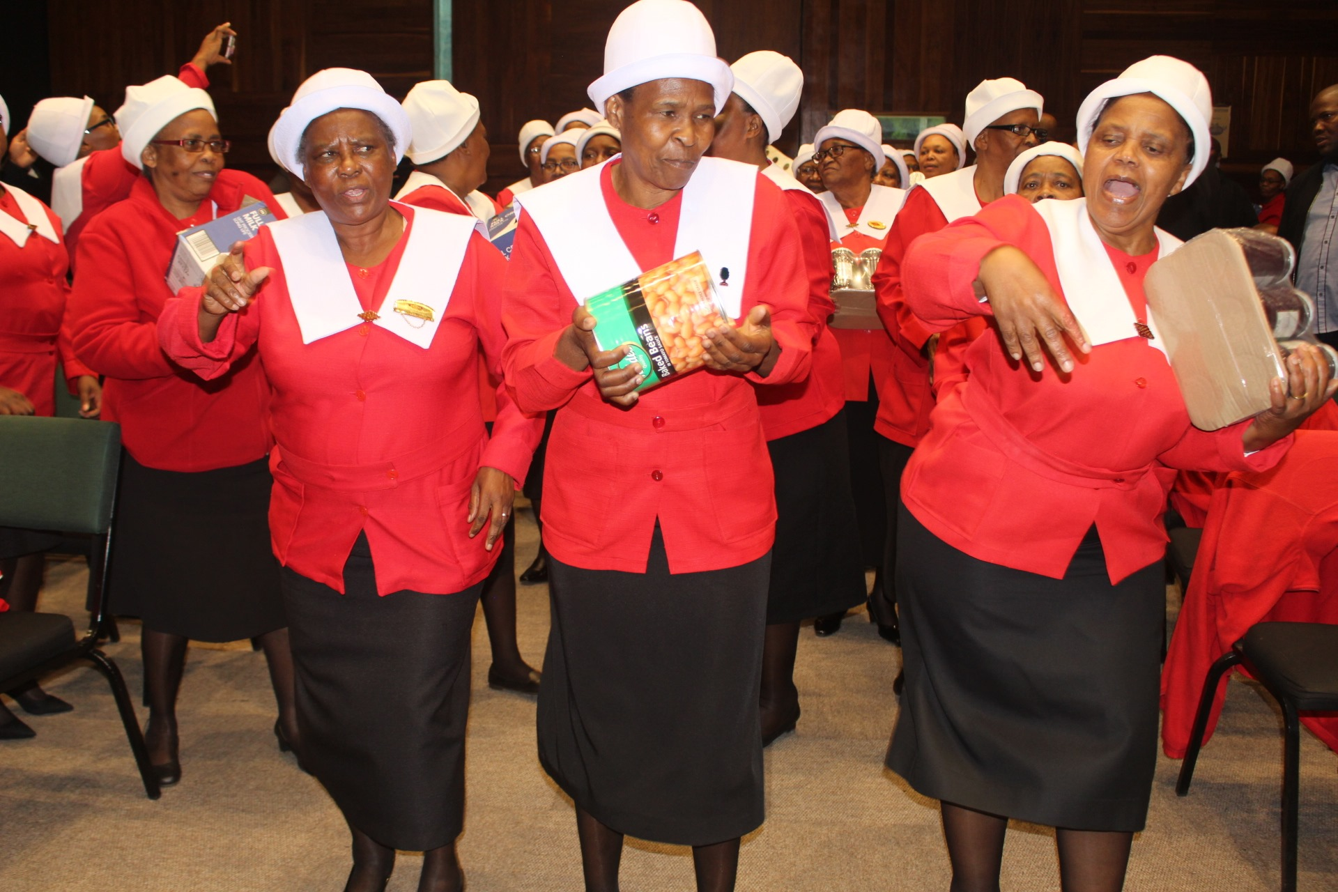 "Central synod women's manyano show ""Motherly love"""